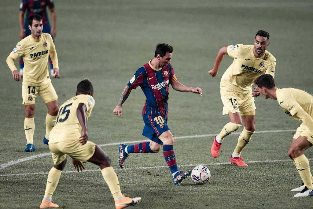 Messi Barcelona Villarreal