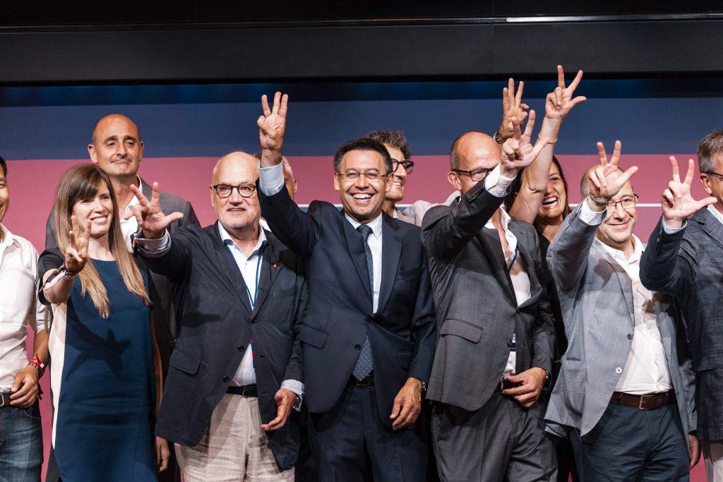 Josep Maria Bartomeu resignation elections Barça