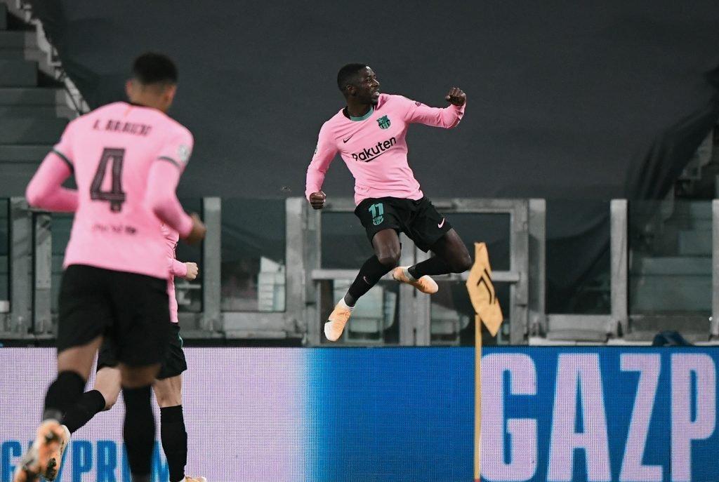 Dembélé Juventus 2-0