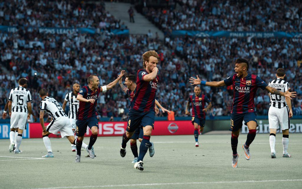 rakitic barcelona Juventus