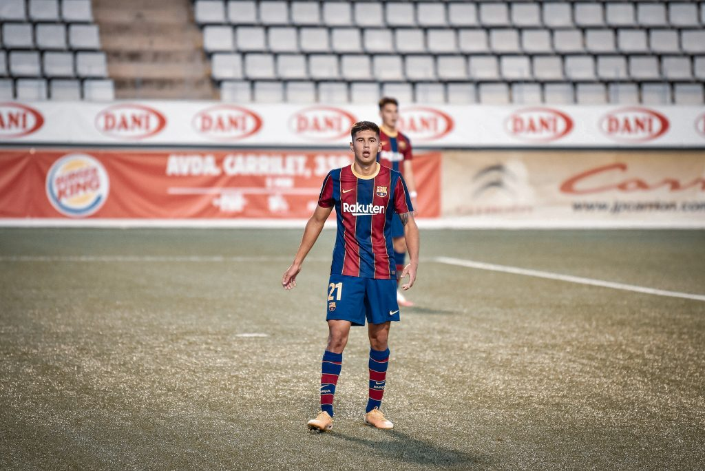 Santiago Ramos Mingo Barcelona B