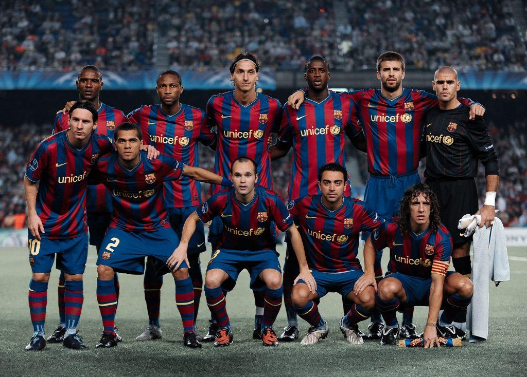 barcelona dynamo kiev lineup