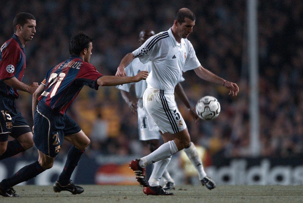 Luis Enrique Zinedine Zidane