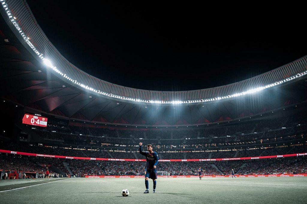 Lionel Messi Wanda Metropolitano