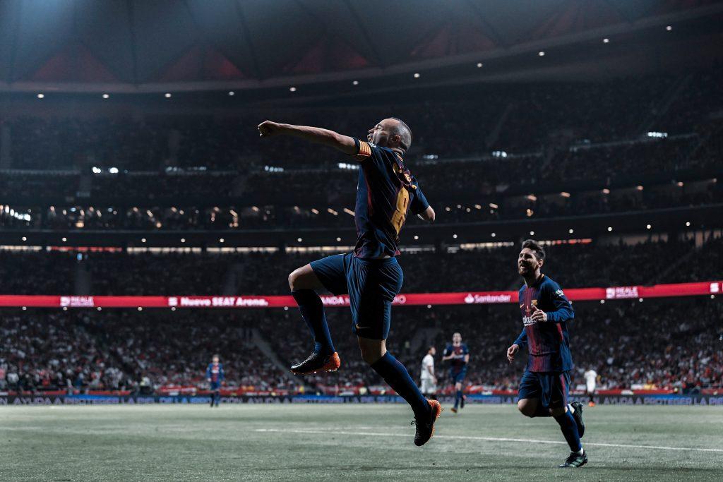 iniesta captain Messi