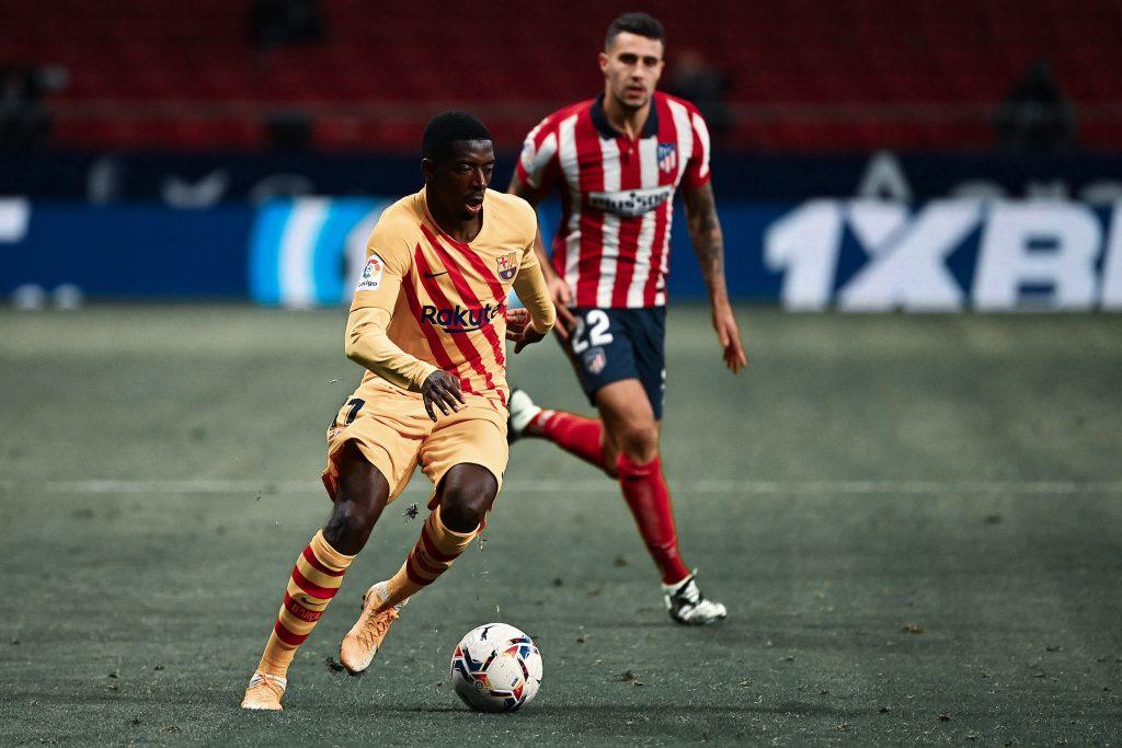 Ousmane Dembele Atletico Madrid
