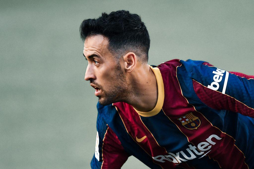 Sergio Busquets Barcelona Osasuna