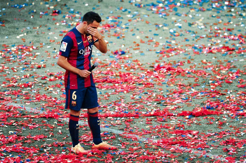 Xavi Barcelona captain