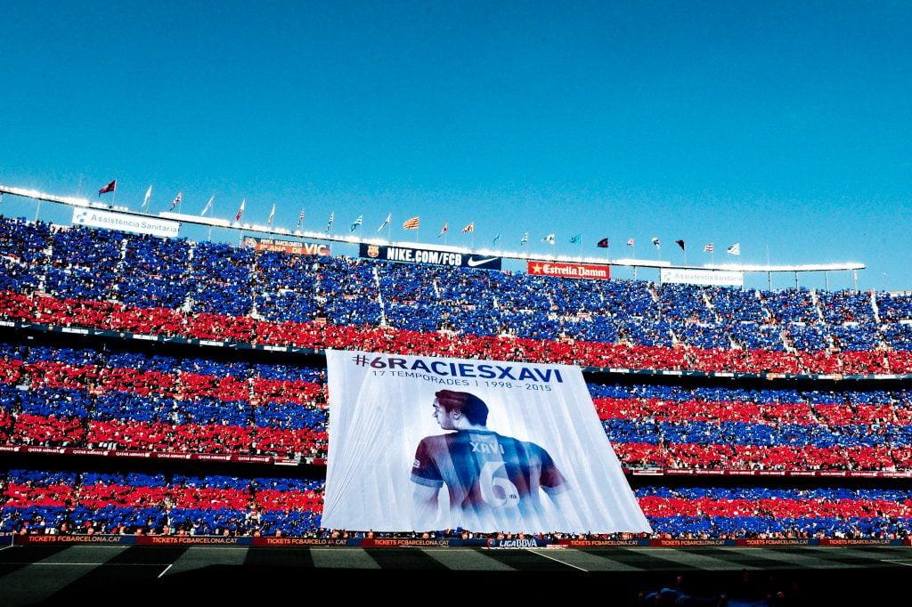 Xavi banner