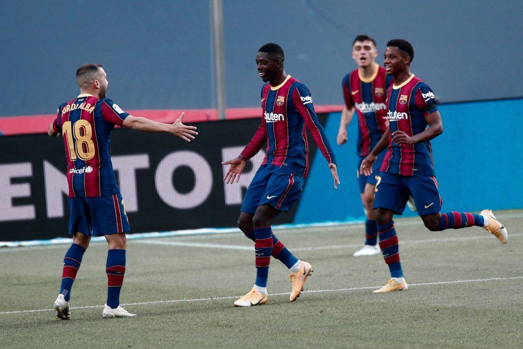 Ousmane Dembele Real Betis