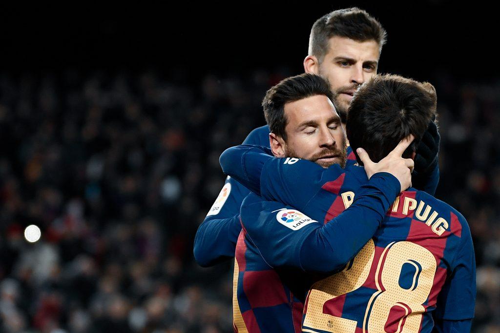 messi Riqui Puig 2019/20 barcelona season