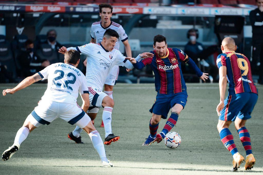 Lionel Messi barcelona koeman