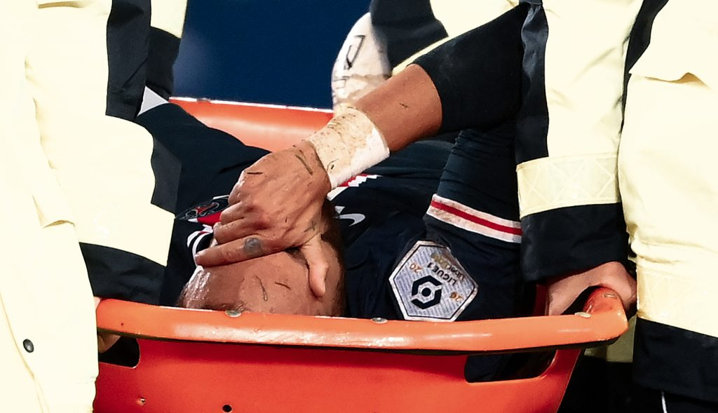 neymar injury psg