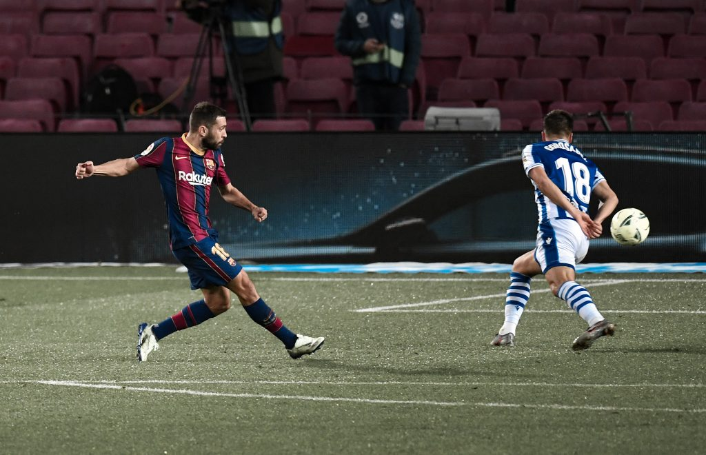 Jordi Alba goal sociedad