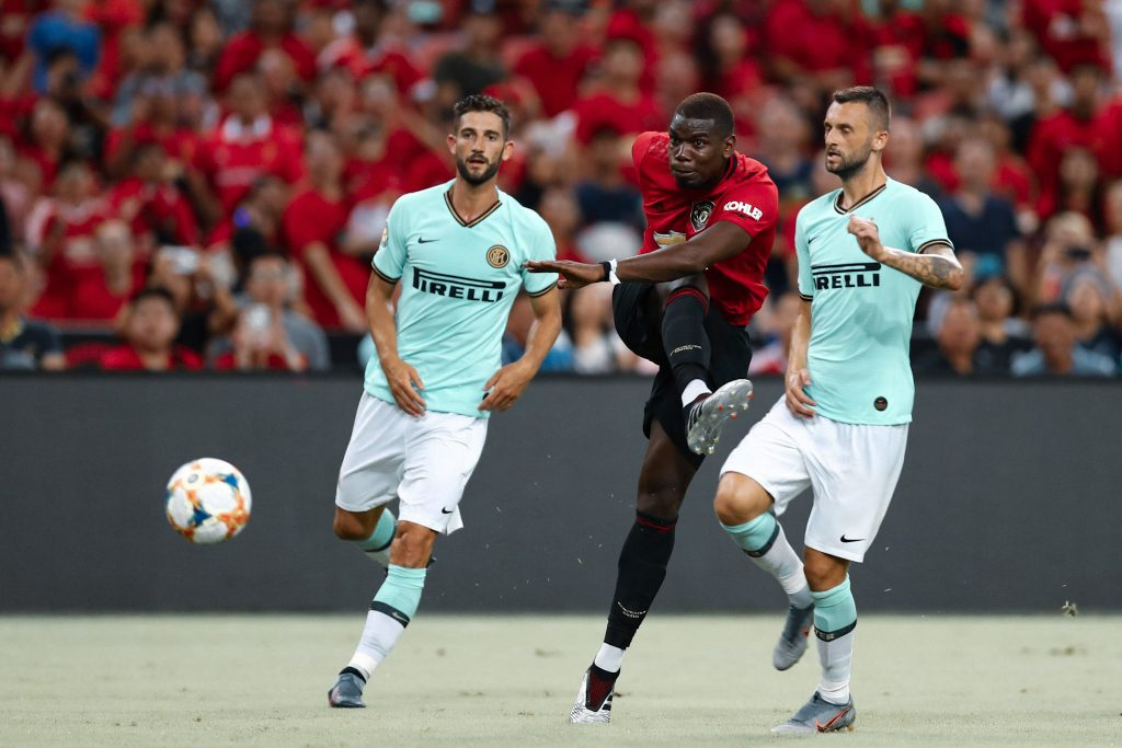 Pogba Manchester United inter Milan