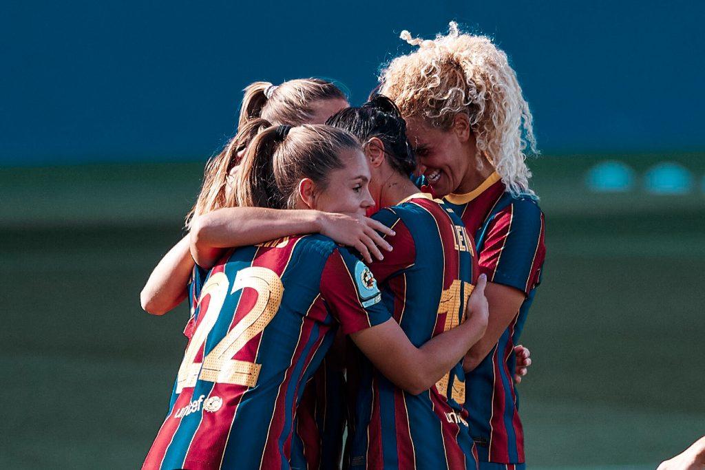 Lieke Martens Kheira Hamraoui Barça Femení Camp Nou
