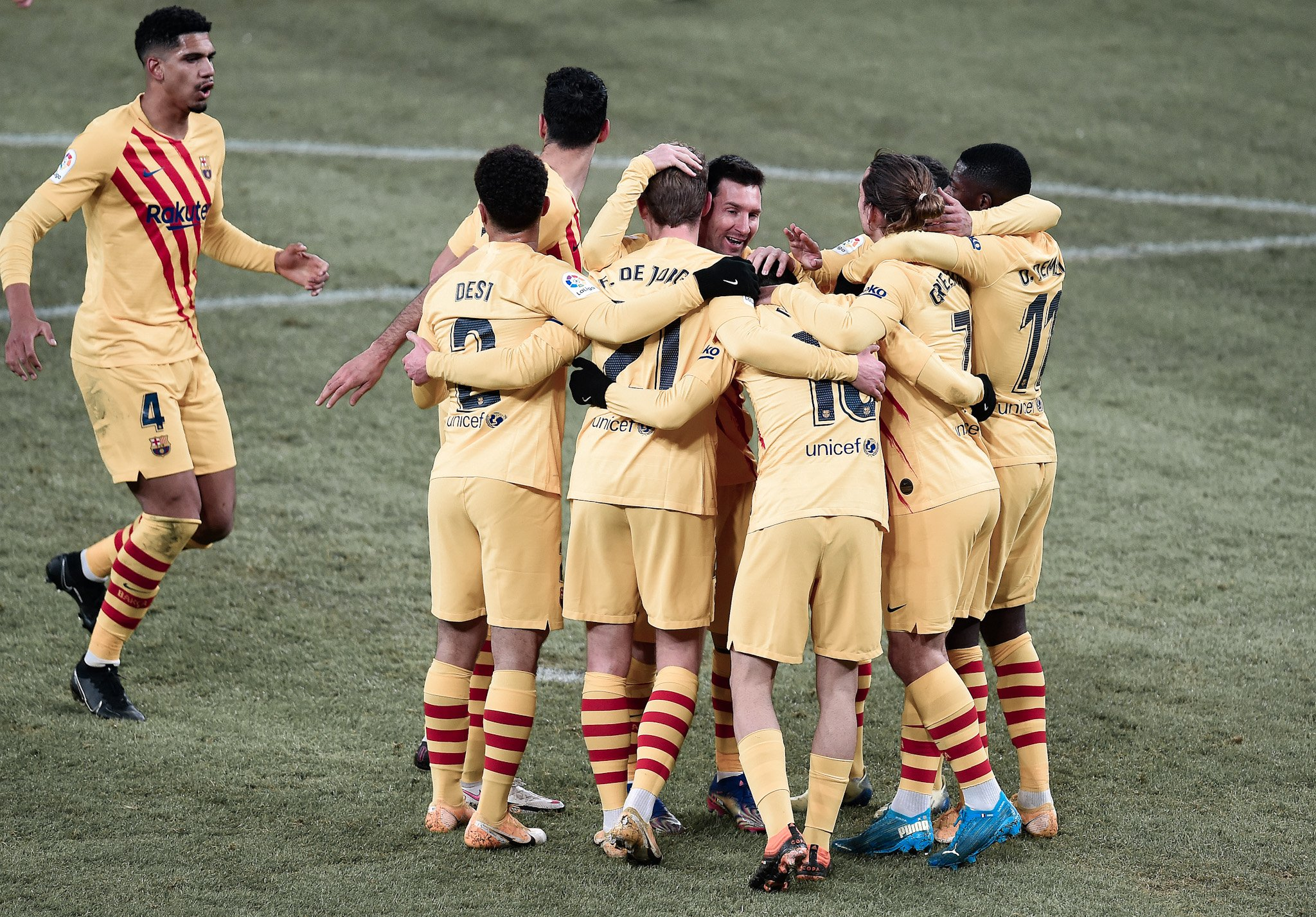 Player Ratings: Athletic Bilbao 2-3 Barcelona | Barca ...