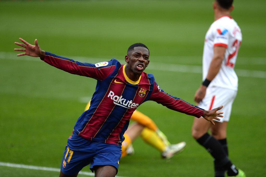 Barcelona Sevilla Dembele goal
