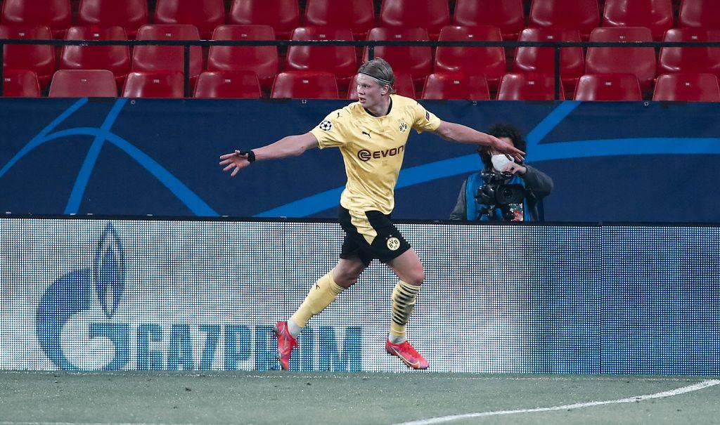 Haaland Goal Sevilla