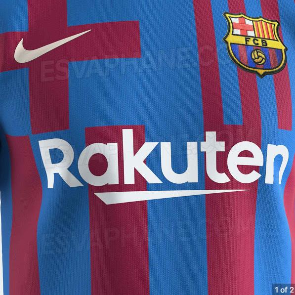 Images Barcelona 2021 2022 Home Kit Design Leaked Barca Universal