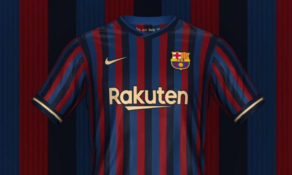 Leaked Barcelona S 2022 23 Home Kit Barca Universal