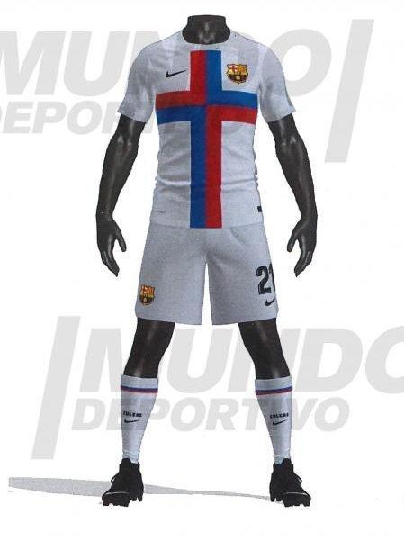 Barcelona's surprise third kit for 2021/22 leaked