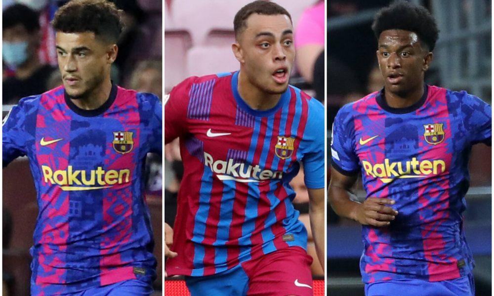 Barcelona squad update vs Granada: Coutinho, Dest, Balde to start